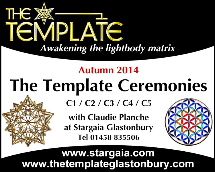 The Template Ceremonies 1 to 5 in Glastonbury