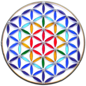Flower of life Creation Mandala Ceremony 4
