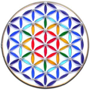 Flower of life Creation Mandala Ceremony 4