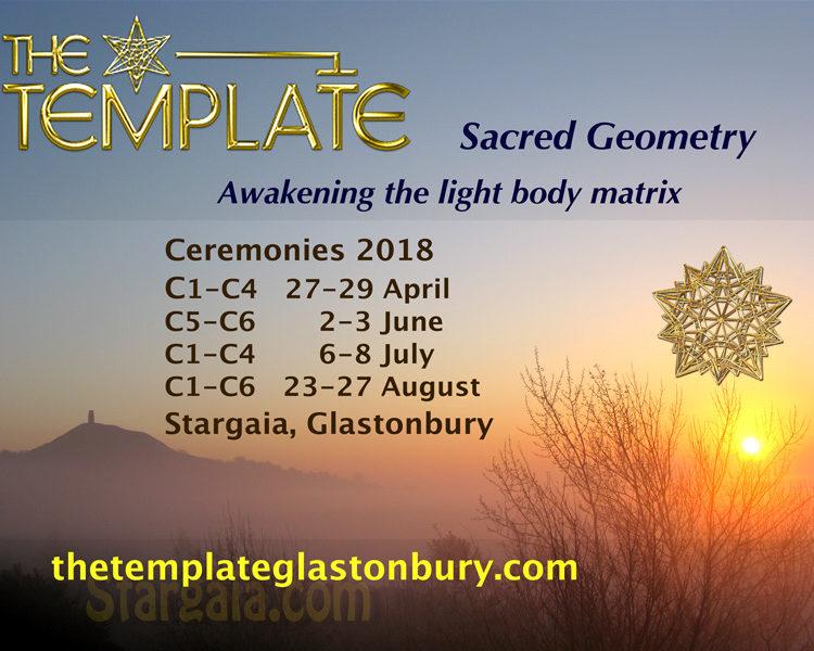 The Template Ceremonies in Glastonbury 2018