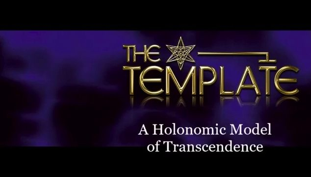 The Template A Holonomic Model of Trancendence